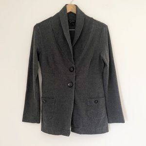 Banana Republic thick light jacket cardigan gray M
